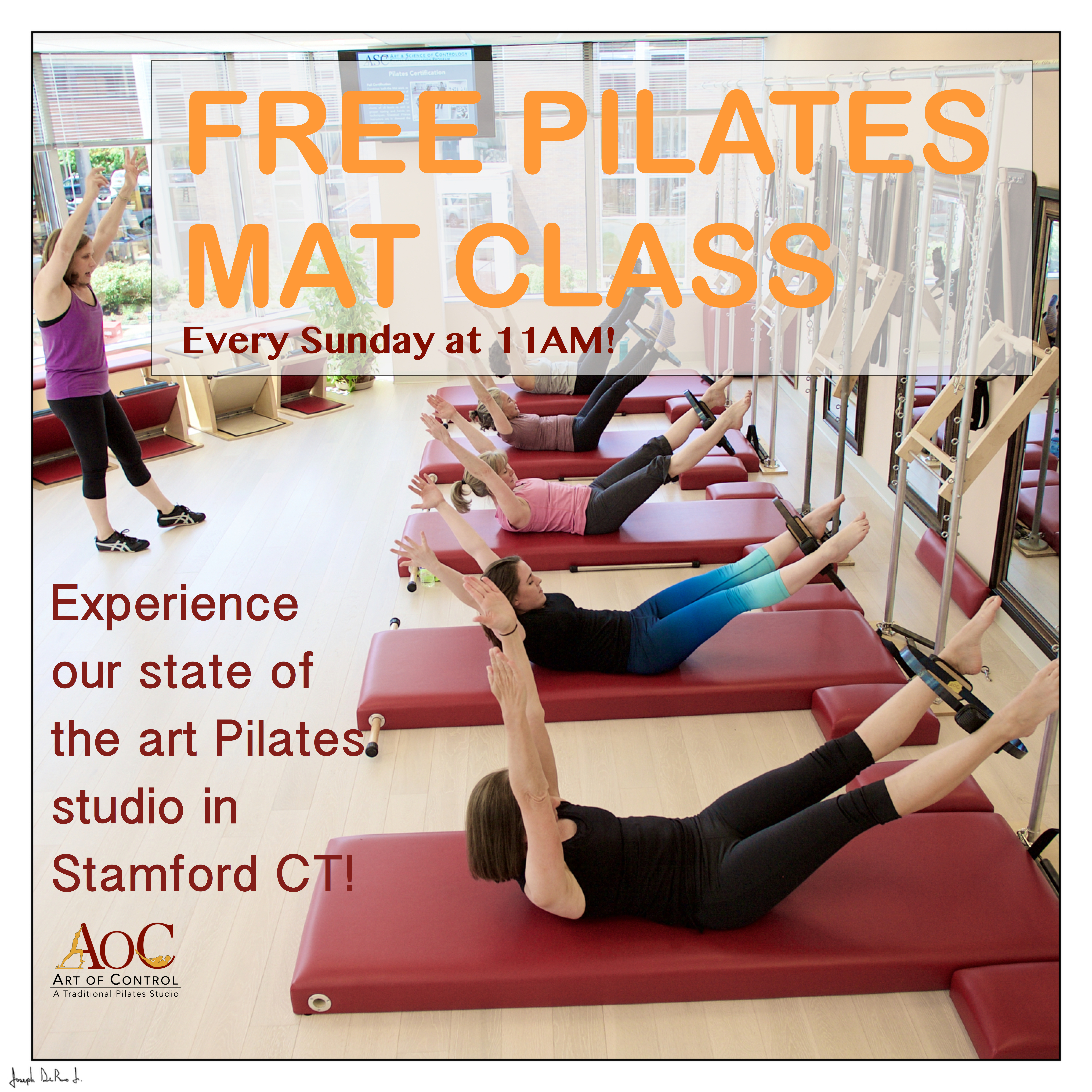 Downtown Stamford Pilates Classes
